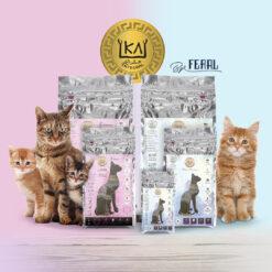 Pienso hipoalergénico supernutritivo para gatos